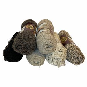 Fishermen's Wool Yarn 6 skeins Lions Brand